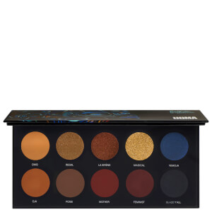 UOMA Beauty Black Magic Palette Colour Palette - Poise 10g