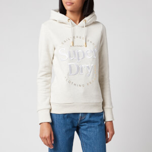 Superdry Women's Established Hoodie - Oatmeal Marl