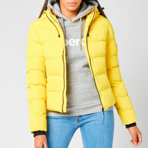 Superdry Women's Spirit Sports Puffer Jacket - Nautical Yellow