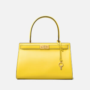 Tory Burch Women's Lee Radziwill Small Bag - Electric Yellow
