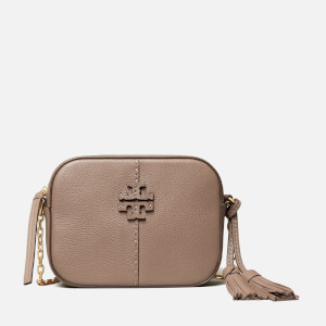 Tory Burch Women's Mcgraw Camera Bag - Silver Maple