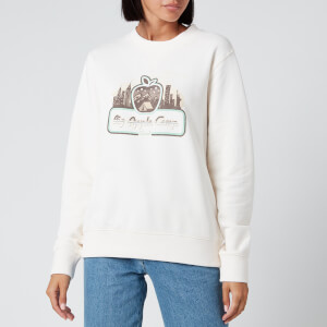Coach 1941 Women's Apple Camp Sweatshirt - Ivory
