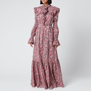 Philosophy di Lorenzo Serafini Women's Liberty Fantasy Print Maxi Dress - Pink