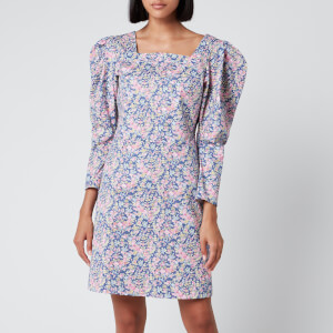Philosophy di Lorenzo Serafini Women's Liberty Fantasy Print Dress - Blue