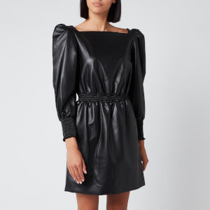 Philosophy di Lorenzo Serafini Women's Faux Leather Dress - Black