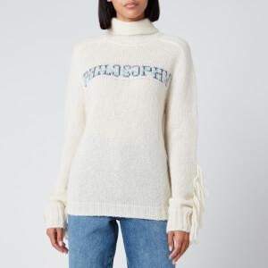 Philosophy di Lorenzo Serafini Women's Fantasy Print Knitwear - White