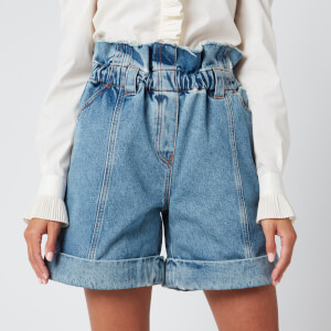 Philosophy di Lorenzo Serafini Women's Denim Shorts - Blue
