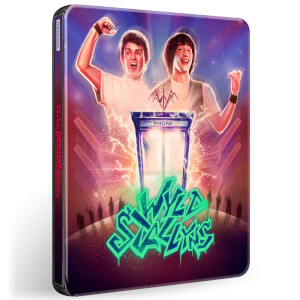 Bill & Ted's Excellent Adventure - 4K Ultra HD Zavvi Exclusive Steelbook (Includes 2D Blu-ray)