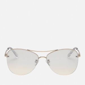 Le Specs Women's Fortifeyed Sunglasses - Gold