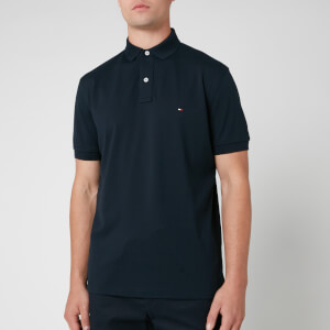 Tommy Hilfiger Men's Regular Fit Polo Shirt - Sky Captain