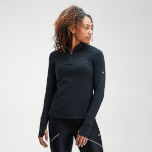 MP Velocity 1/4 Zip Top til kvinder – Sort