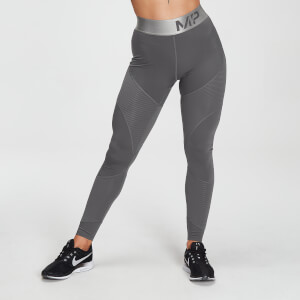 MP Damen Adapt Strukturierte Leggings – Carbon