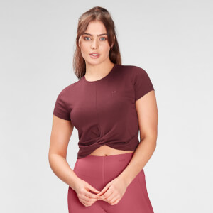 MP Women's Composure T-Shirt- Washed Oxblood
