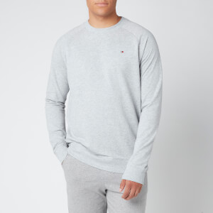 Tommy Hilfiger Men's Tommy LWK Long Sleeve Crew Tank Top - Grey