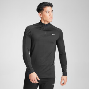 MP Men's Velocity 1/4 Zip- Black