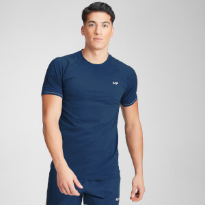 MP Men's Velocity Short Sleeve T-Shirt- Dark Blue