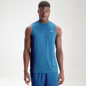 MP Men's Essentials Training Tank - Aqua