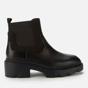 Ash Women's Metro Leather Chelsea Boots - Black