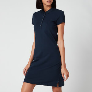 Tommy Hilfiger Women's Heritage Slim Polo Dress - Midnight