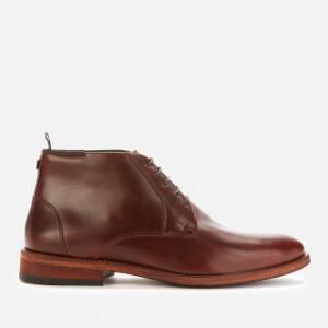 Barbour Men's Benwell Chukka Boots - Mahogany