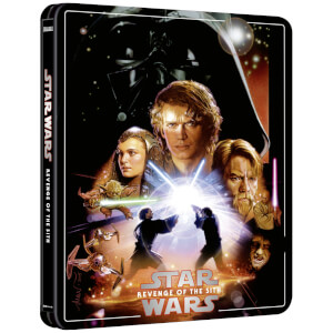 Star Wars Episode III: Revenge of the Sith - Zavvi Exclusive 4K Ultra HD Steelbook (3 Disc Edition includes Blu-ray)
