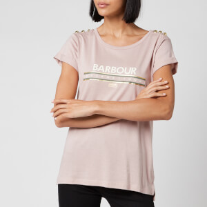 Barbour International Women's Zone T-Shirt - Rose Quartz