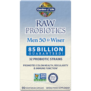 Raw Microbiomes Men 50+ and Wiser - Cooler - 90 cápsulas