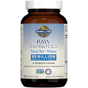 Raw Microbiomes Hommes 50+ - Réfrigéré - 90 Capsules