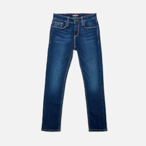 Tommy Hilfiger Boys' Scanton Slim Jeans - Dark Wash