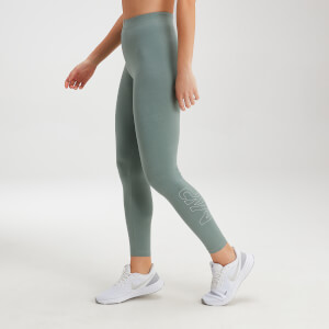 MP Women's Originals Leggings - Washed Green