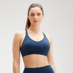 MP Women's Power Mesh Bra - Dark Blue