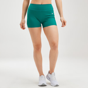MP Women's Power Shorts - Energy Green