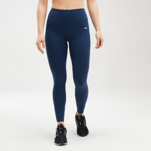 MP Women's Power Mesh Leggings - Dark Blue