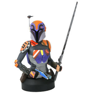 Diamond Select Star Wars Rebels Sabine Wren 1/6 Scale Bust