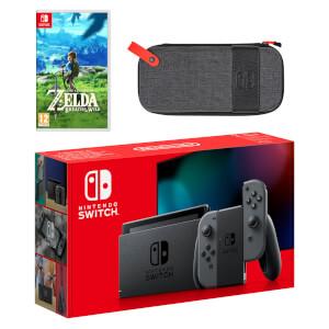 Nintendo Switch (Grey) The Legend of Zelda: Breath of the Wild Pack
