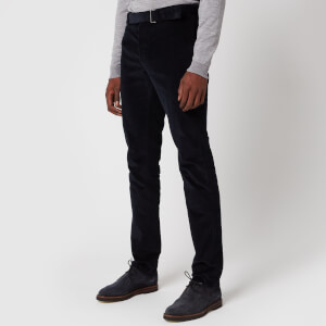 Officine Generale Men's Paul Corduroy Pants - Dark Navy