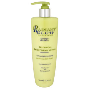 Radiant Glow Botanical Brightening Lotion 400ml