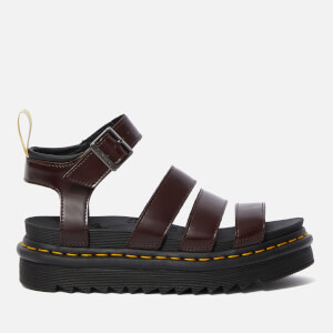 Dr. Martens Women's Blaire Vegan Oxford Sandals - Cherry Red