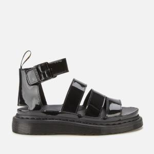 Dr. Martens Women's Clarissa 2 Patent Sandals - Black Patent