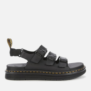 Dr. Martens Men's Solomon Hydro Leather Sandals - Black