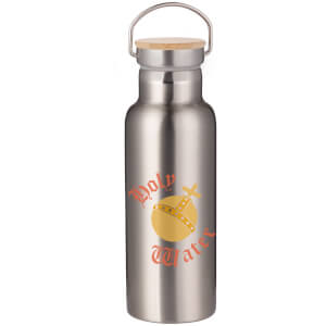 Holy Water Portable Insulated Water Bottle - Steel