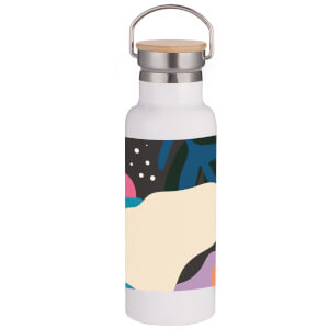 Blobby Portable Insulated Water Bottle - White