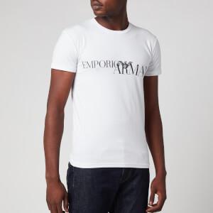 Emporio Armani Men's Megalogo T-Shirt - White
