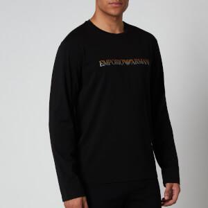 Emporio Armani Men's Long Sleeve T-Shirt - Black