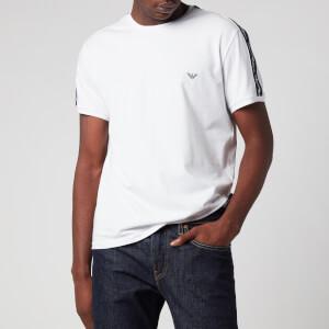 Emporio Armani Men's Twin Pack Logoband T-Shirt - White