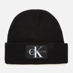 Calvin Klein Jeans Women's Logo Beanie - Black