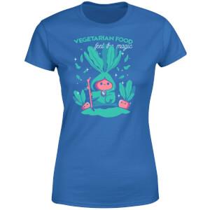 Ilustrata Feel The Magic Women's T-Shirt - Royal Blue