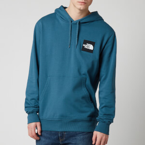 The North Face Men's Blackbox Logo Hoodie - Mallard Blue