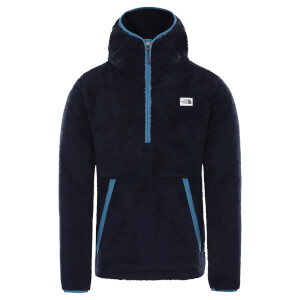 The North Face Men's Campshire Pull Over Hoodie - Aviator Navy/Mallard Blue