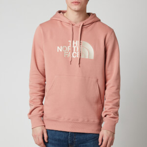 The North Face Men's Drew Peak Pullover Hoodie - Pink Clay/Vintage White